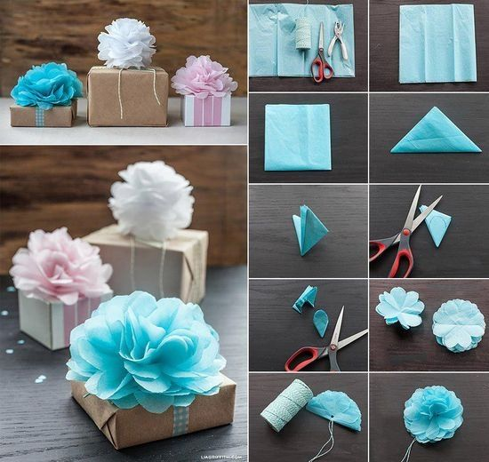 DIY Gift Bow Pictures, Photos, And Images For Facebook