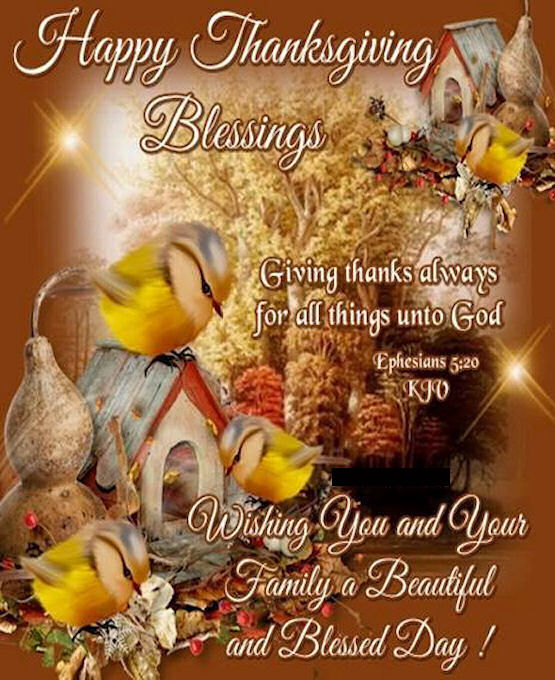 Happy Thanksgiving Blessings Religious Quote Pictures ...