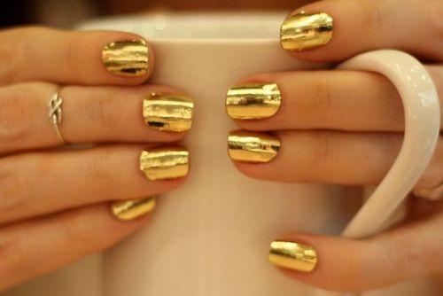 Αποτέλεσμα εικόνας για gold  nails