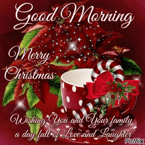 Good Morning, Merry Christmas Pictures, Photos, and Images