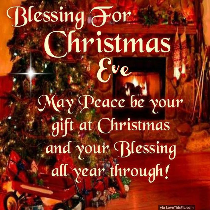 Christmas Eve Quotes Tumblr: Blessings For Christmas Eve Pictures, Photos, And Images