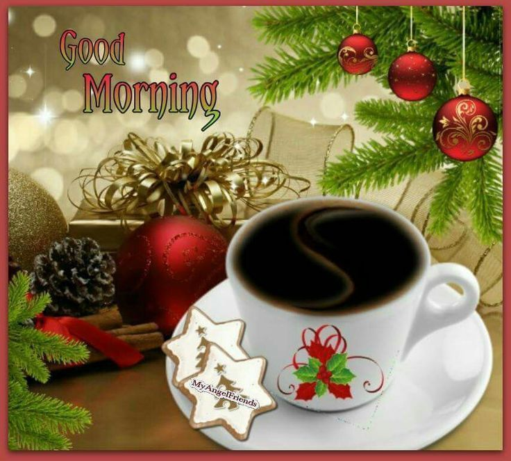 Good Morning Christmas Pictures, Photos, And Images For