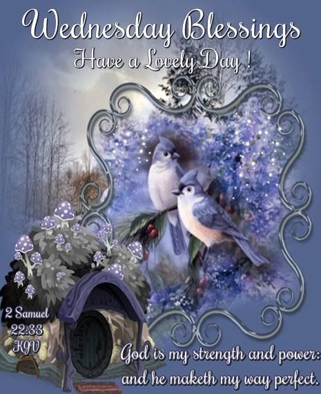 Wednesday Blessings Winter Religious Quote Pictures