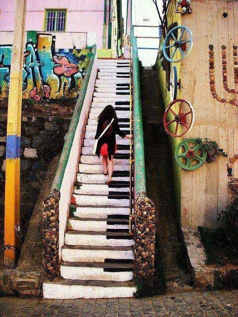 Piano Stairway Pictures Photos And Images For Facebook