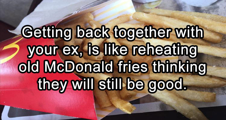getting together with an ex