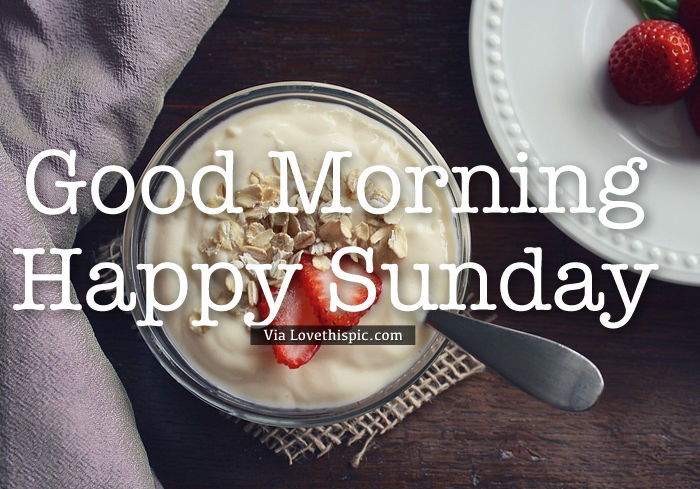 Happy Sunday Breakfast Pictures Photos And Images For