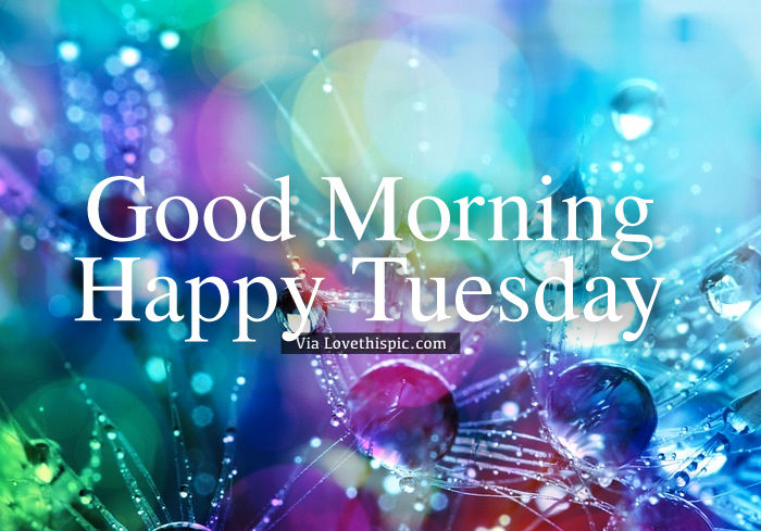 Happy Tuesday Colorful Image Pictures, Photos, and Images for Facebook,  Tumblr, Pinterest, and Twitter