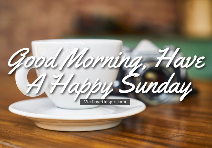 Good Morning Sunday Coffee Image Pictures Photos And Images For Facebook Tumblr Pinterest