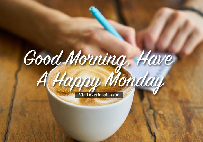 Happy Monday Coffee Notes Pictures, Photos, and Images for