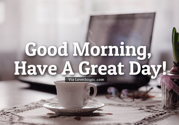 Good Morning Coffee And Computer Pictures, Photos, and