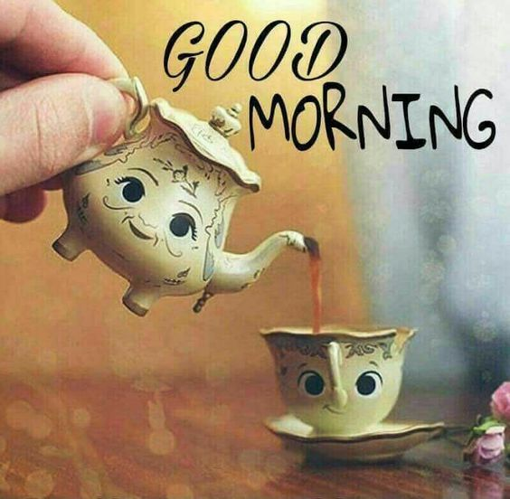 Good Morning Teapot Quote Pictures, Photos, and Images for