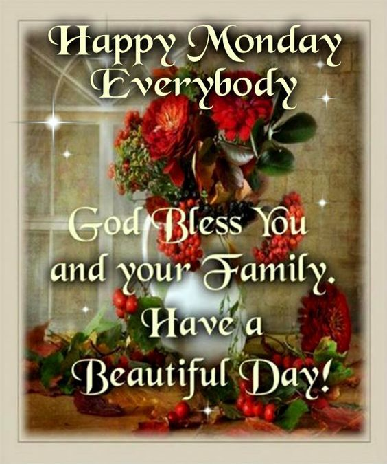 Happy Monday Everybody Quote Pictures, Photos, and Images
