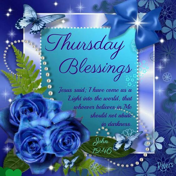 Blue Rose Blessings For Thursday Pictures, Photos, And