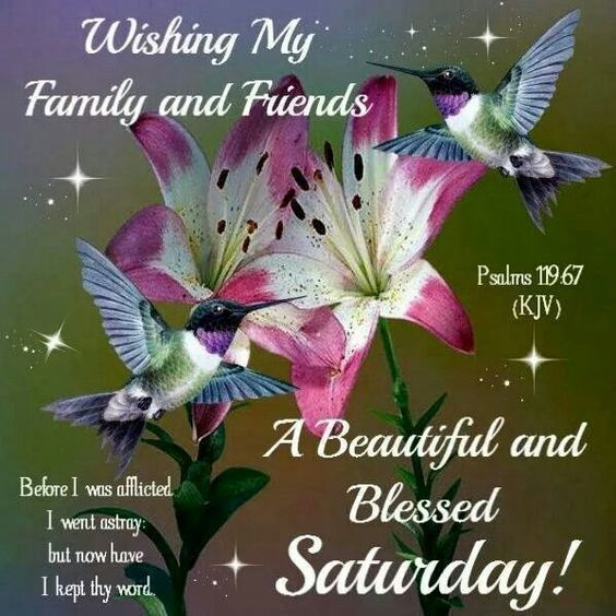 Wishing My Family And Friends A Beautiful And Blessed