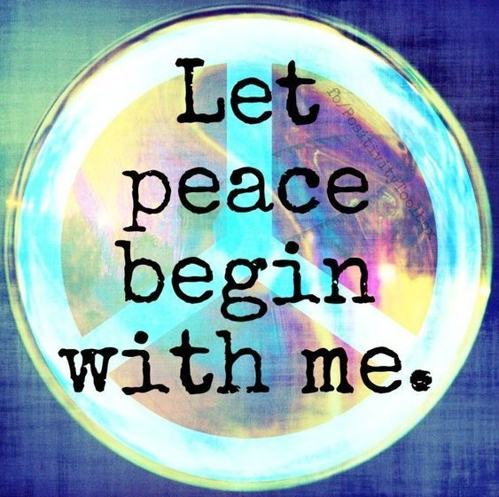 Let Peace Begin With Me Pictures Photos And Images For