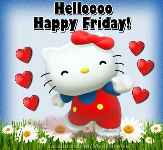 37887ea6e Hello Kitty Happy Friday Pictures, Photos, and Images for Facebook ...