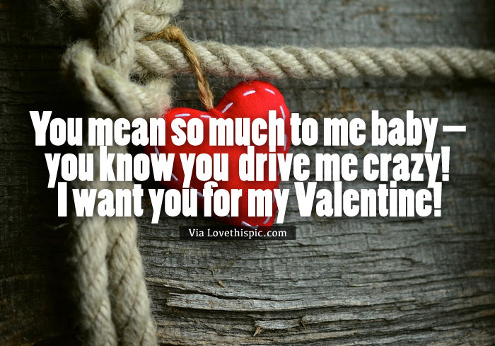 i want you baby