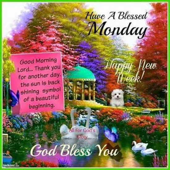 Have A Blessed Monday Pictures Photos And Images For