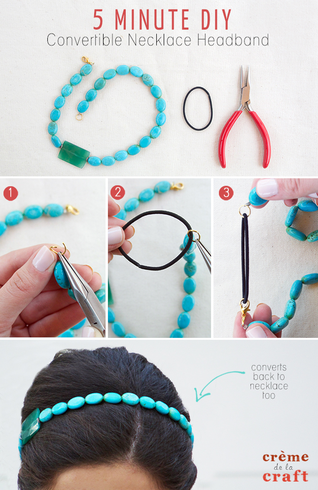 5 Minute DIY Necklace Pictures Photos And Images For
