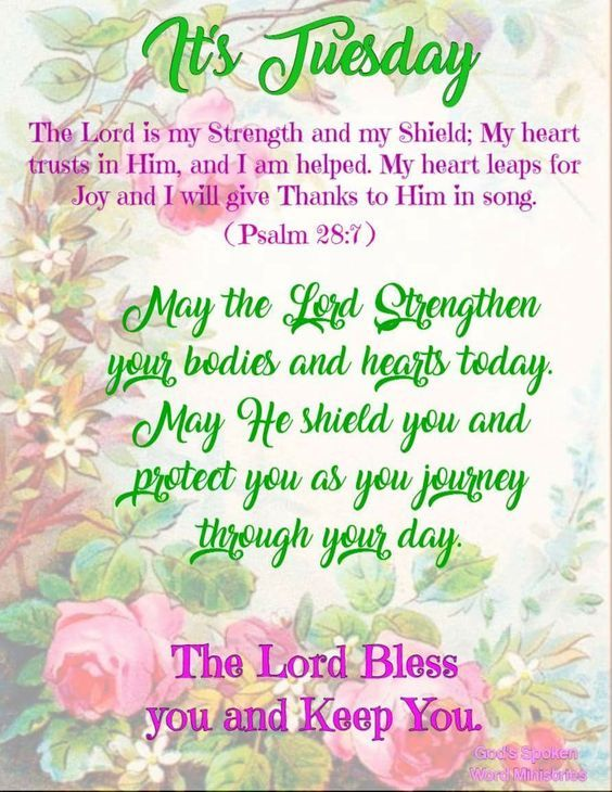 The Lord Bless You And Keep You Its Tuesday Pictures Photos And Images For Facebook Tumblr Pinterest And Twitter