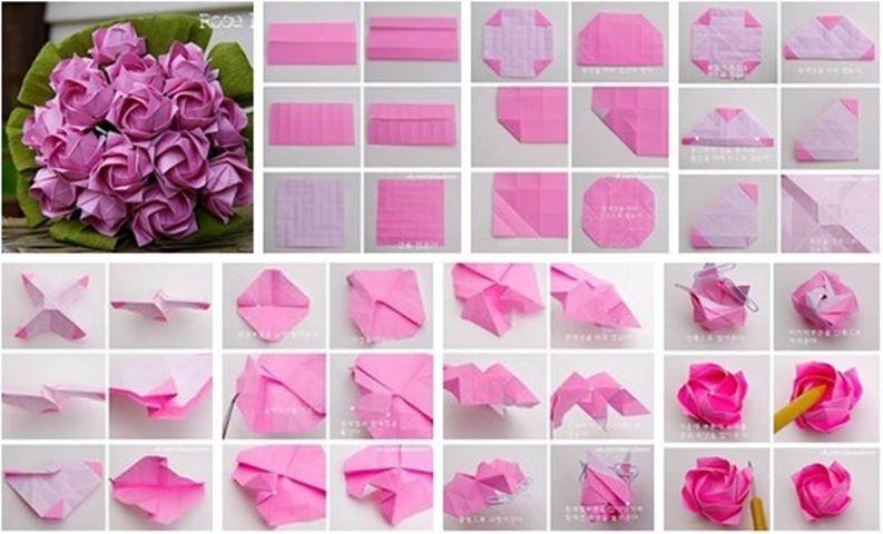 Как сделать бумажный цвет 598