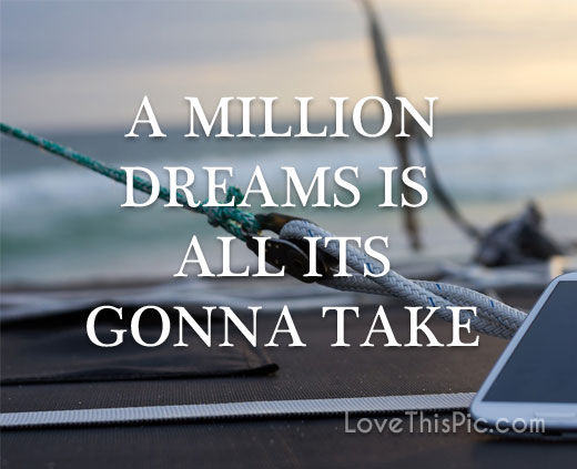 A Million Dreams Pictures Photos And Images For Facebook