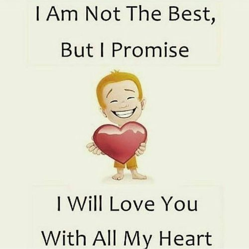 Short Sweet I Love You Quotes: I Will Love You With All My Heart Pictures, Photos, And