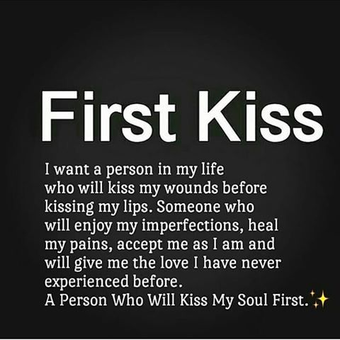 when will i have my first kiss