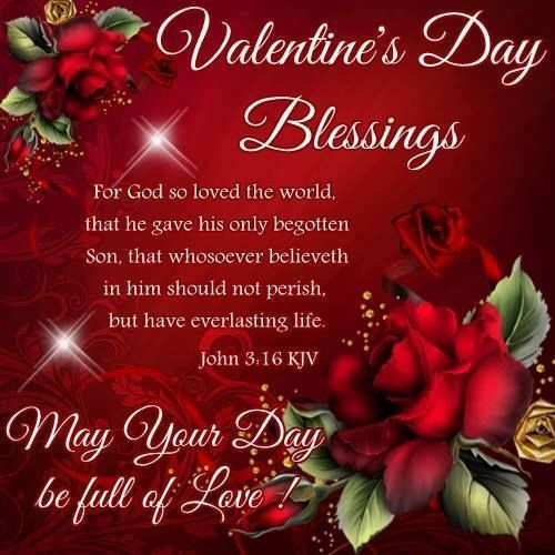 Happy Valentines Day Jesus Quotes: Valentine's Day Blessings God Quote Pictures, Photos, And