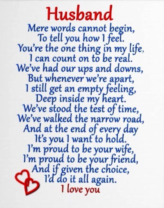Husband I Love You Pictures, Photos, and Images for ...