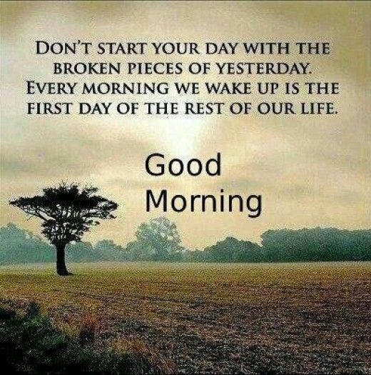First Day Of Business Quotes: Every Morning We Wake Up Is The First Day Of The Rest Of