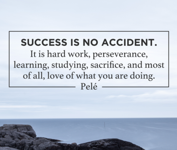 Motivational Quotes For Sports Teams: Success Is No Accident Pictures, Photos, And Images For