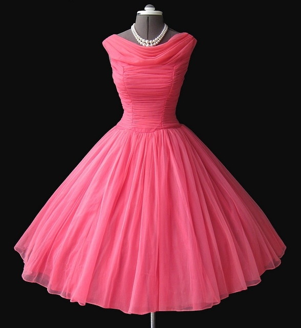 Retro Style Dress From The 50\u0027s Pictures, Photos, and Images