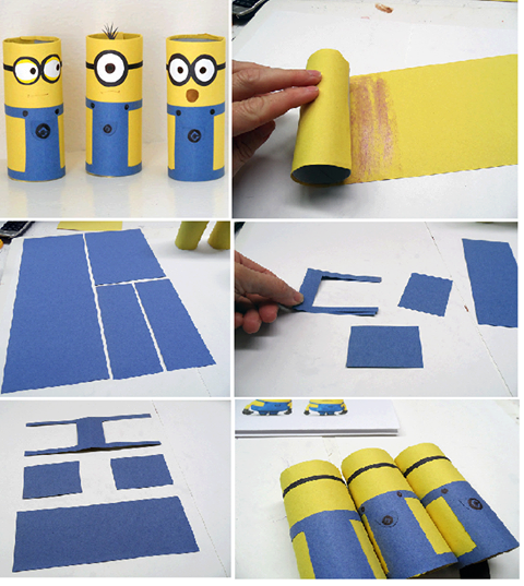 آموزش ساخت سطل زباله DIY Minions Pictures, Photos, and Images for Facebook ...