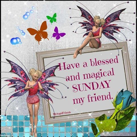 Fairy Blessed And Magical Sunday My Friend Pictures