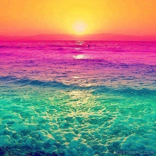 beautiful color background wave - photo #38