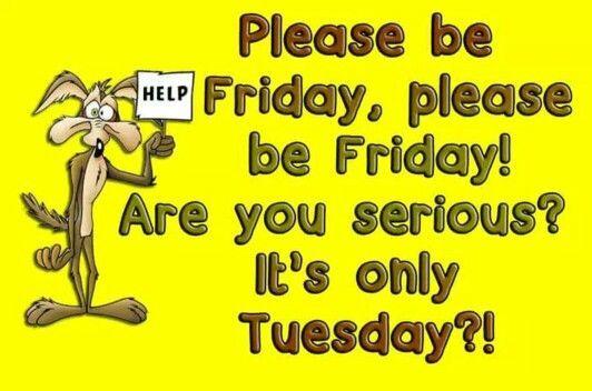 Please Be Friday, Plea...