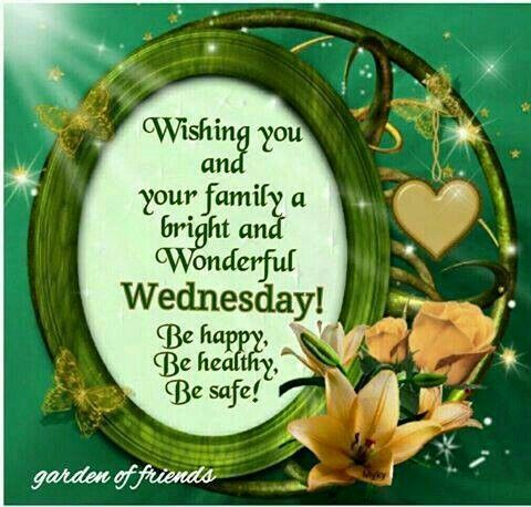 Be Happy, Healthy, Safe Wednesday Quote Pictures, Photos