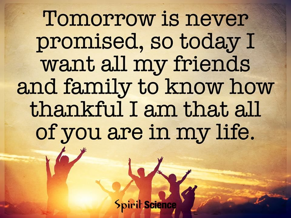 Tomorrow Is Never Promised.... Pictures, Photos, And