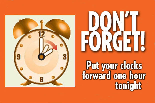 Don T Forget To Take Your Medicine Quotes: Don't Forget To Put Your Clocks Forward Tonight Pictures