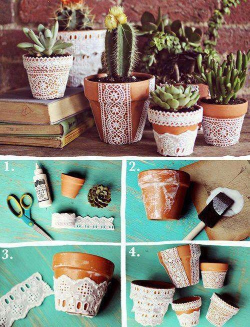 Diy decorative pot pictures photos and images for - Macetas originales para plantas ...