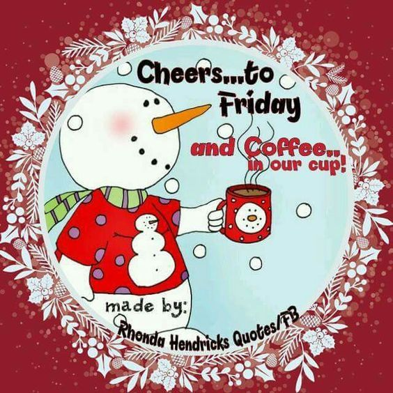 Friday Christmas Quotes: Cheers To Friday Pictures, Photos, And Images For Facebook