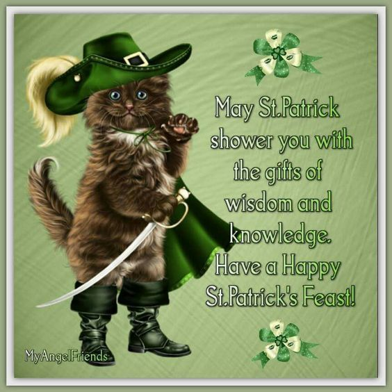 May St Patrick Shower You With The Gifts Of Wisdom