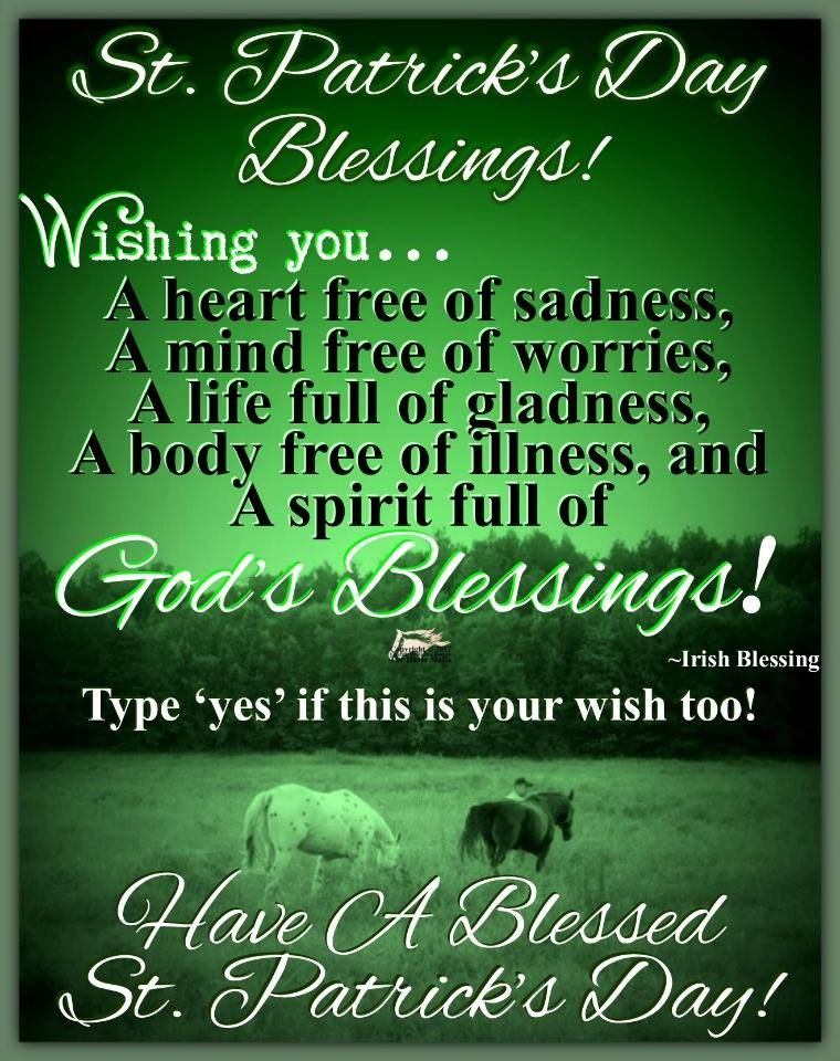 St Patrick S Day Blessings Pictures Photos And Images