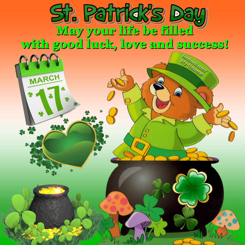 Cute st patricks day greetings pictures photos and images for cute st patricks day greetings m4hsunfo