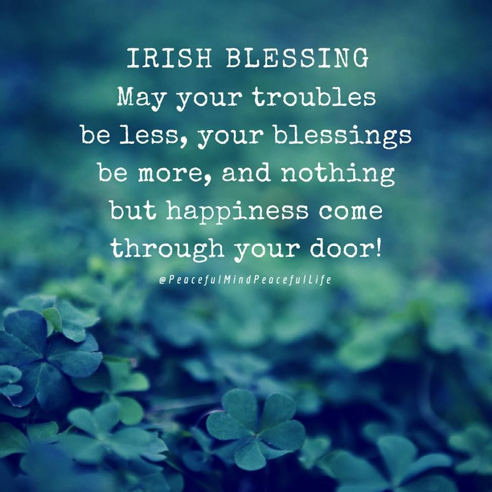 Happy St Patricks Day Irish Blessings Quote Pictures