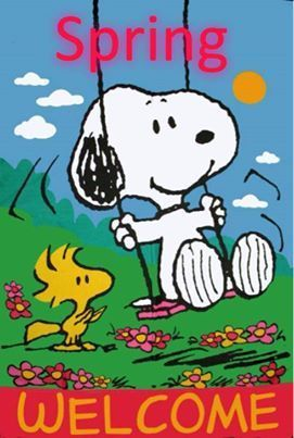 Snoopy Spring Welcome Quote Pictures Photos And Images
