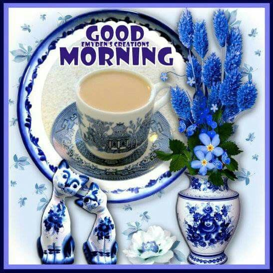Tea & China Good Morning Image Quote Pictures, Photos, and ...
