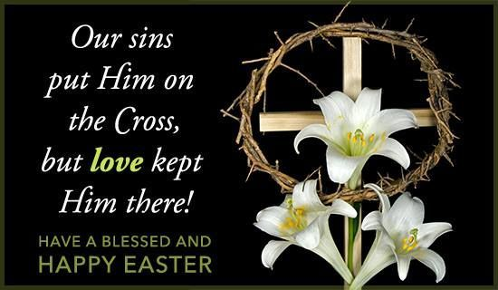Картинки по запÑ€осу Our sins put him on the cross happy easter