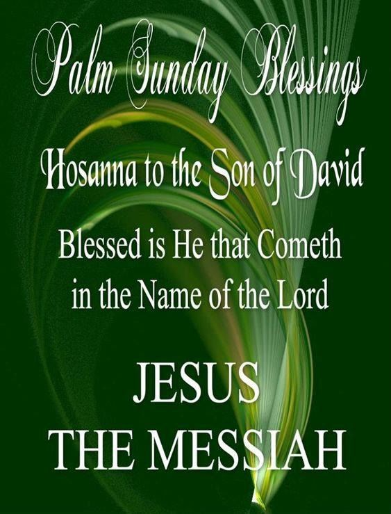 Palm sunday blessings quote pictures photos and images for palm sunday blessings quote m4hsunfo